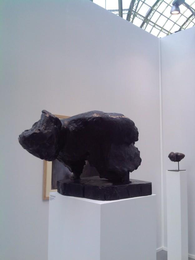 pierre edouard, sculpture, artparis, galerie ditesheim, 2014